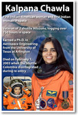 Astronaut Kalpana Chawla - First American Indian Woman in Space - NEW NASA Space Poster (fp401) PosterEnvy