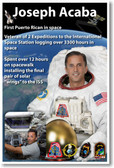 NASA Astronaut Joseph Acaba - First Puerto Rican in Space - NEW Space Poster (fp412) PosterEnvy Latino Hispanic