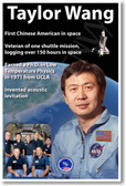 NASA Astronaut Taylor Wang - First Chinese American in Space - NEW Space Poster (fp414) Asian PosterEnvy
