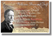 Presidential Series - U.S. President William Taft - New Social Studies Poster