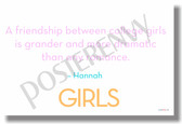 A Friendship Between College Girls... Hannah (HBO Girls) - New Humor Poster (hu313)