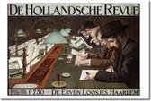 De Hollandsche Revue - Dutch Art Print