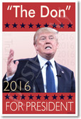 """""""The Don"""" For President - NEW Humor Poster (hu320) PosterEnvy"""