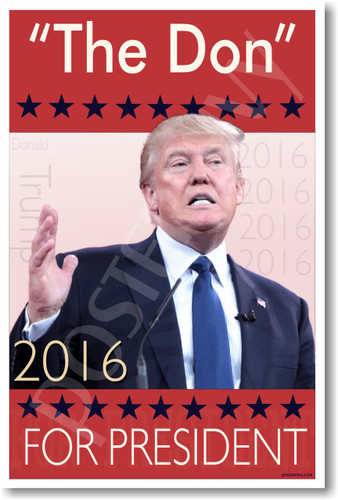 """The Don"" For President - NEW Humor Poster (hu320) PosterEnvy"