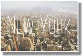 New York - NEW Travel Poster (tr583)