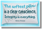 ...Integrity Is Everything - Gerry Dumas - NEW Classroom Motivational Poster (cm1094)
