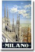 Milano - by artist A. Pomi circa 1930 Italy