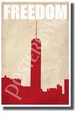 Freedom - New Motivational Poster (cm1131)