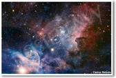 Carina Nebula space exploration telescope universe galaxy astro physics NEW Space Astronomy Poster (ms239)