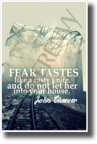 John Cheever Quote Poster