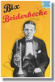 Bix Beiderbecke - Famous Jazz Artists - NEW Music Poster (fp426) PosterEnvy Poster