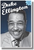 Duke Ellington - Famous Jazz Artists - NEW Music Poster (fp427) PosterEnvy Poster