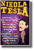 I do not think there is any thrill that can go through the human heart like that felt by the inventor Nikola Tesla NEW Motivational Poster (fp439) posterenvy inventor quote serbian genius science elon musk