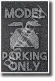 Tesla Model X Parking - NEW Electric Vehicle Humor POSTER (hu404) PosterEnvy Poster Elon Musk EV Auto Cars