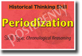 Historical Periodization - NEW Social Studies POSTER (ss179) PosterEnvy Poster