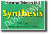 Historical Synthesis - NEW Social Studies POSTER (ss180) PosterEnvy Poster