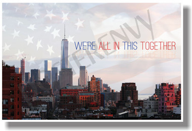 We're All In This Together - New York City - NEW Political POSTER (po044) PosterEnvy Poster