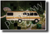 Breaking Bad - Fleetwood Bounder - NEW Famous Vehicle Poster (fa172) PosterEnvy Poster