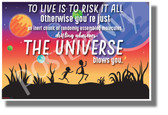 To Live is to Risk it All 2 - NEW Funny Rick & Morty POSTER