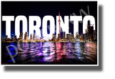 Toronto - NEW Canada North American City Travel Art POSTER