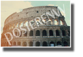 Rome, Italy - The Colosseum - NEW World Travel Art Poster (tr602)