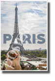 Eiffel Tower - Paris, France - NEW World Travel Art Poster
