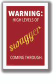 Swagger - Parks & Rec - NEW Humorous Quote Poster
