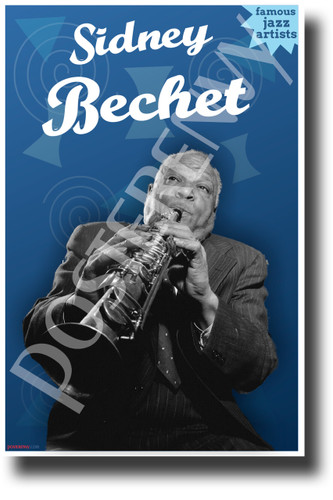 Sidney Bechet Famous Jazz Musician - NEW Famous Person Music POSTER