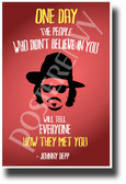The People Who Didn't Believe In You - Johnny Depp - NEW Famous Person Quote Poster