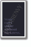 Stars Can't Shine Without Darkness 2 - NEW Classroom Motivational Poster (cm1325)