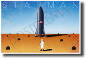 Starman - NEW Funny Parody Space Exploration Science POSTER