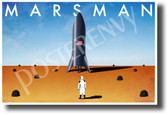 Mars Man - NEW Funny Parody Space Exploration Science POSTER