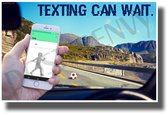Texting Can Wait - NEW Health and Driving Safety Poster
