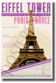 The Eiffel Tower - Infographic - Classroom History USA POSTER