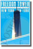 Freedom Tower - Infographic - Classroom History USA POSTER