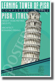 Leaning Tower of Pisa - Infographic - Classroom History Landmark POSTER