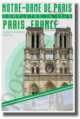 Notre Dame - Infographic - Classroom History Landmark POSTER