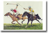 Pair of Polo Players - Vintage Print
