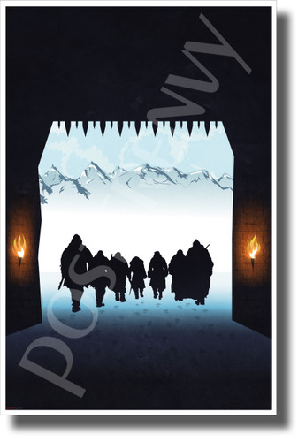 North of the Wall - NEW Novelty GOT TV Show POSTER