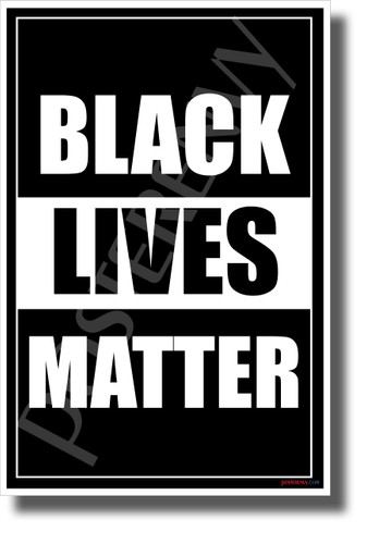 Black Lives Matter - NEW Equality Human Rights POSTER