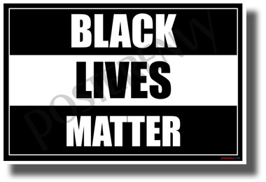 Black Lives Matter 2 - NEW Equality Human Rights POSTER