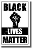 Black Lives Matter 3 - NEW Equality Human Rights POSTER