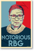 Supreme Court Justice - Notorious RBG - NEW Classroom Famous Person Poster