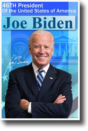 46th President of the United States Joe Biden - NEW President USA POSTER (po050)