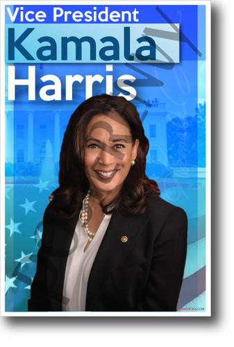 Vice President Kamala Harris - NEW Vice President USA POSTER (po051)