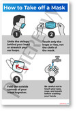 How to Take a Mask Off - New Public Safety POSTER