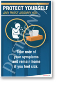 Take Note of Your Symptoms - New Public Safety POSTER