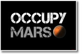 Occupy Mars - NEW space POSTER