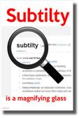Subtilty - NEW POSTER