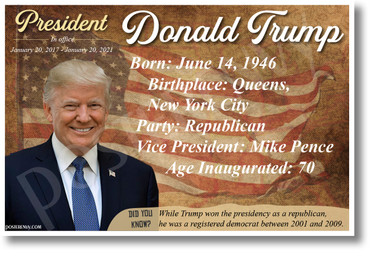 Donald Trump - NEW POSTER